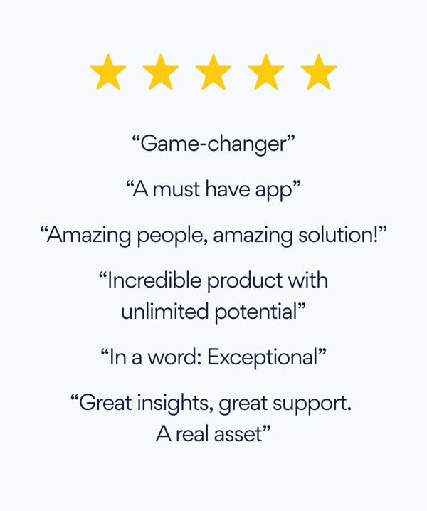 2020 5 star reviews