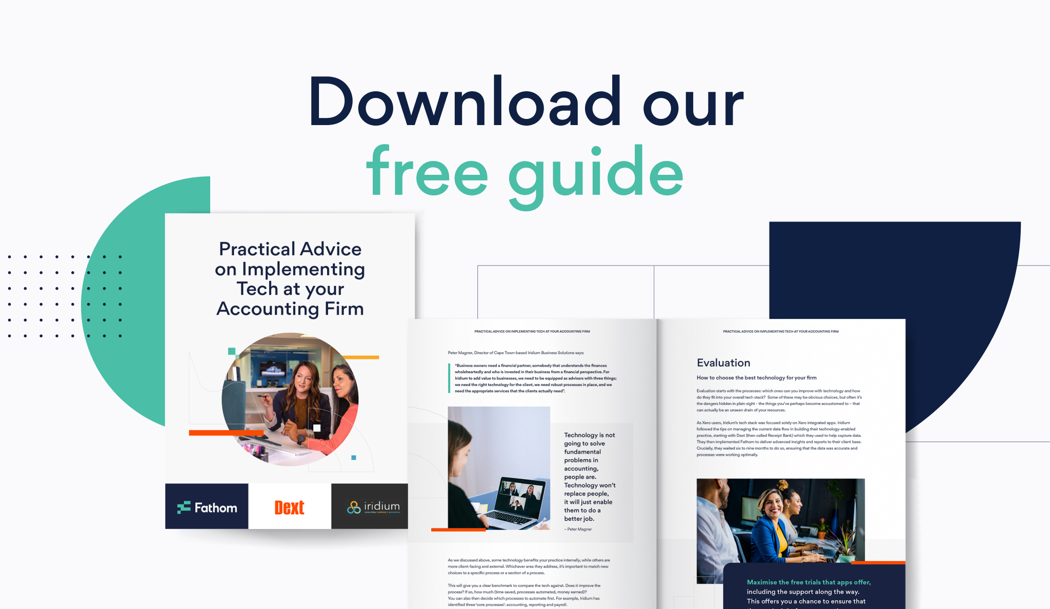 Guide: practical advice on implementing tech at your accounting firm