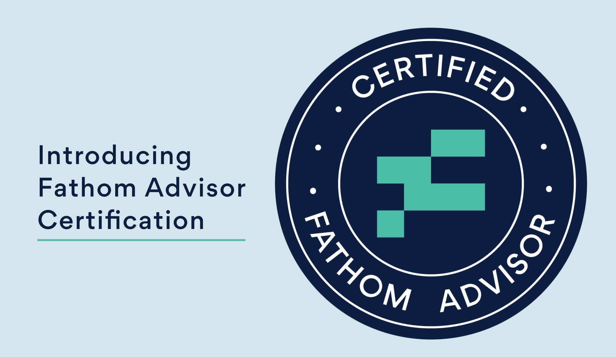 fathom certification